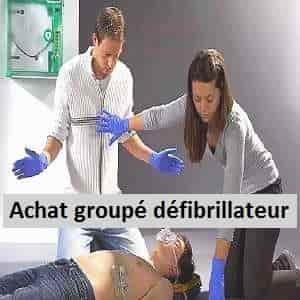 achat groupé défibrillateur